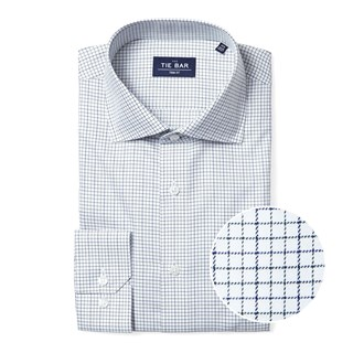 tattersall green non-iron dress shirt