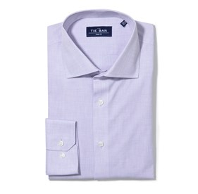 Lavender Summer Solid non-iron dress shirt