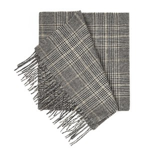 gold coast glen charcoal scarf