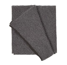 Charcoal Second City Knit scarf