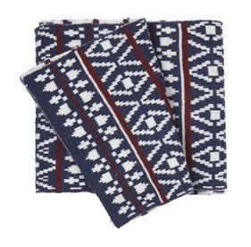 Logan Square Knit Navy scarf