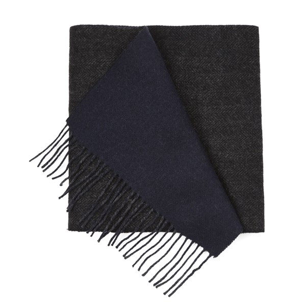 Navy River West Solid Scarf