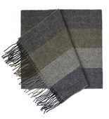 SCARVES - NORTH CENTER STRIPES - ARMY GREEN