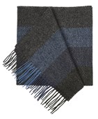 Scarves - North Center Stripes - Blues