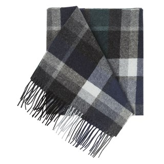 garfield park plaid hunter green scarf
