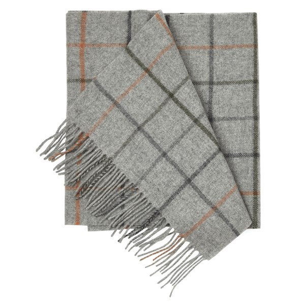 Army Green West Town Pane Scarf