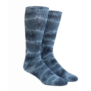day dreamer blue dress socks