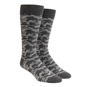covert camo grey dress socks