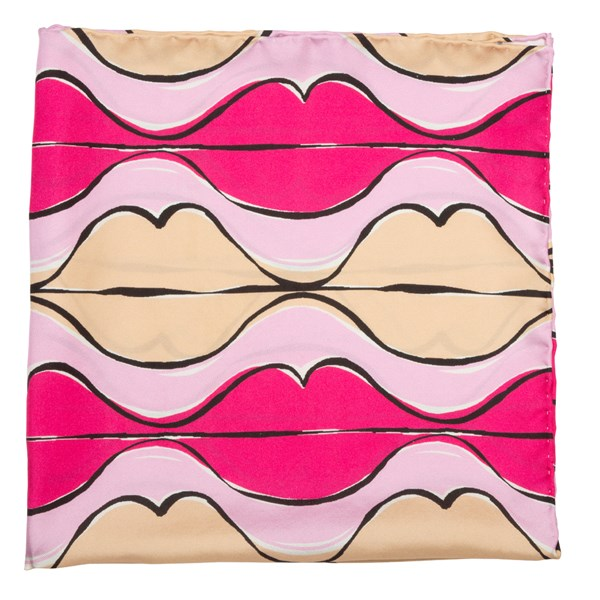 Pink Read My Lips By Jacob Tobia Scarf