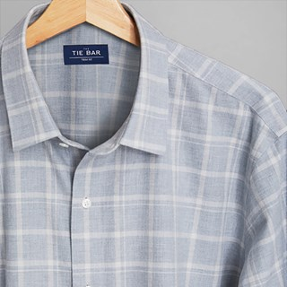 Multicolored Check Grey Casual Shirt