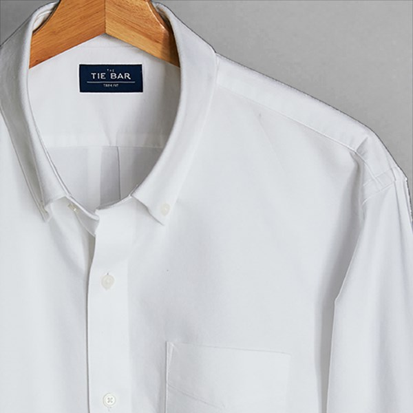 The Modern-Fit Oxford White Shirt