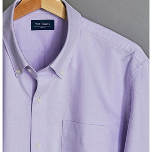 the all-purpose oxford lavender casual shirt