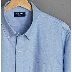 the all-purpose oxford light blue casual shirt