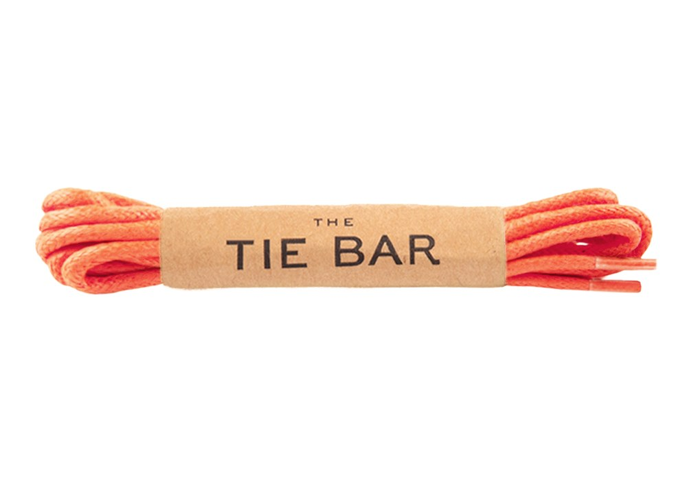 Coral Colored Shoelaces Shoelace Ties Bow Ties And