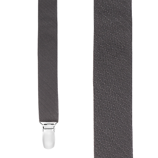 Charcoal Astute Solid Suspender