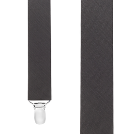 Charcoal Astute Solid suspenders
