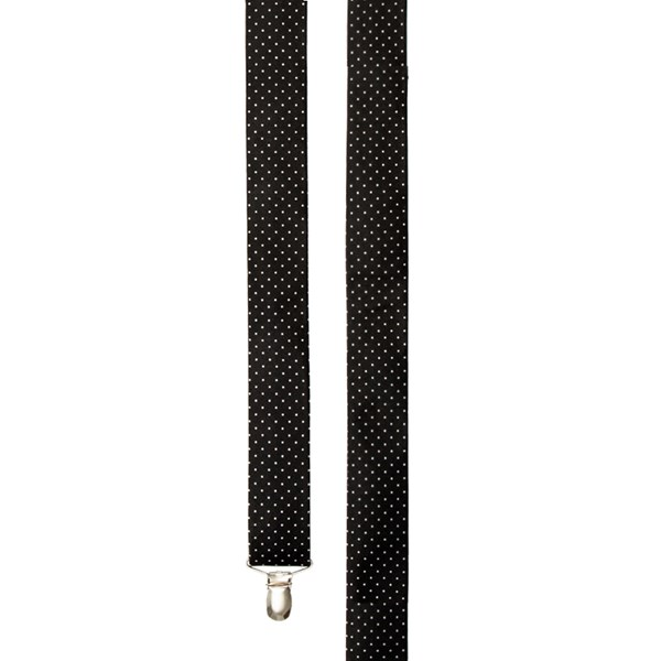 Black Mini Dots Suspender