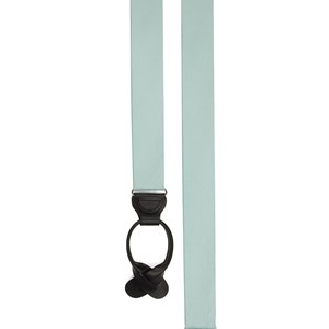 grosgrain solid spearmint suspenders
