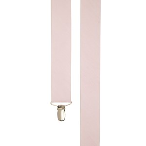 linen row blush pink suspenders
