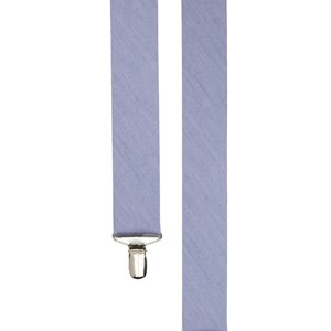 linen row sky blue suspenders