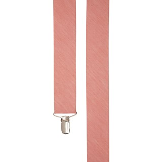 Linen Row Coral Suspender
