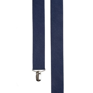 linen row navy suspenders