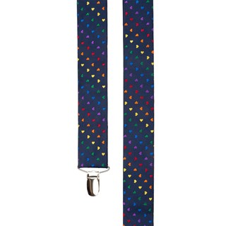 Navy The Equality Suspenders