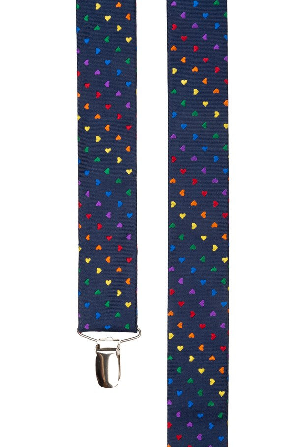 The Equality Suspenders Navy Suspender