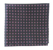 Pocket Squares - ANEMONES - STEEL Grey
