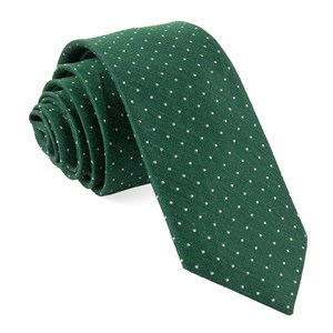 bhldn destination dots hunter green ties