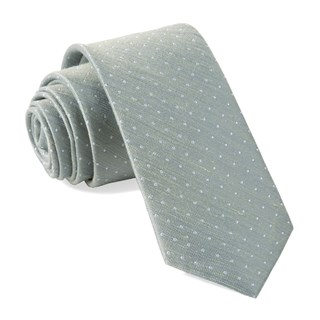 Bhldn Destination Dots Morning Mist Tie