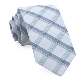 Light Blue Brewerytown Plaid ties