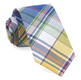 Royal Blue Fishtown Plaid ties