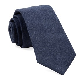 Navy Foundry Solid ties