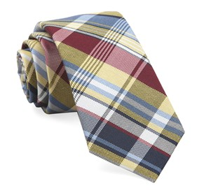 Yellow Jarrett Plaid ties