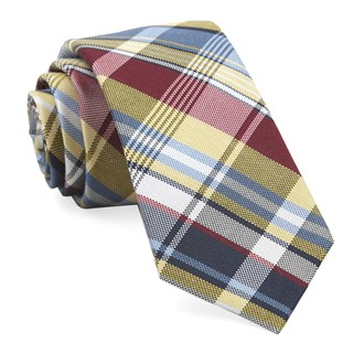 jarrett plaid yellow ties