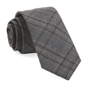 Grey Johnstone Plaid ties