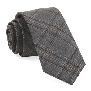 johnstone plaid grey ties