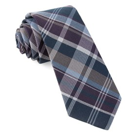 Purple Latham Plaid ties