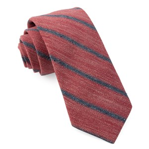 north border stripe raspberry ties