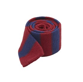 Burgundy Polar Stripe ties