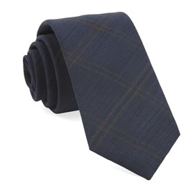 Navy Redding Plaid ties