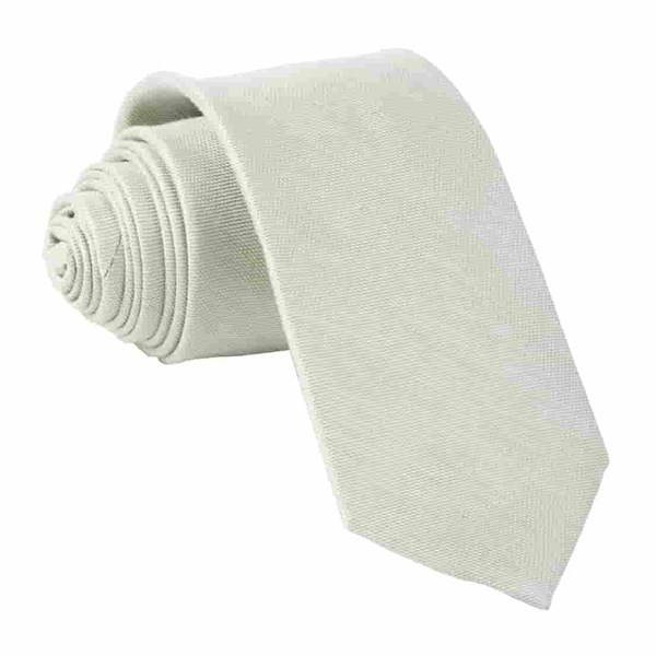 Sage Green Sand Wash Solid Tie