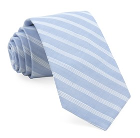 Blue Seamore Stripe ties