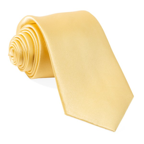 Butter Solid Satin Tie