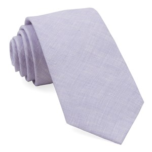 south end solid lavender ties