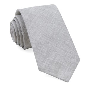 south end solid grey ties