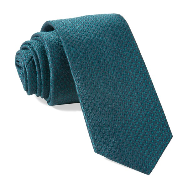 Emerald Bhldn Dotted Spin Tie