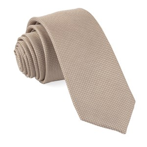 bhldn union solid light champagne ties