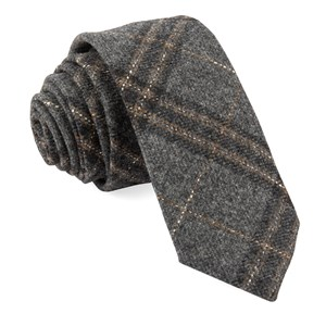 barberis wool sotto grey ties